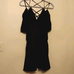LET HER BE Black Like New Dress Size S
